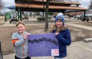 Students honor girl's memory