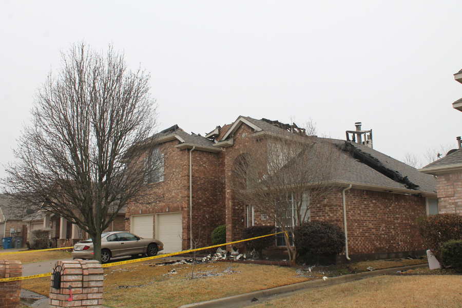Fires burn two Wylie homes