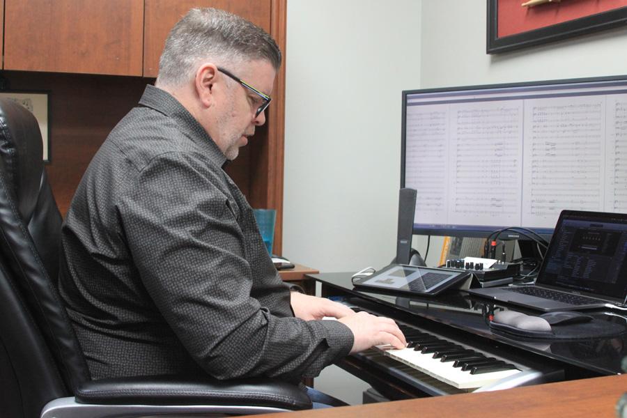 Local composer releases album