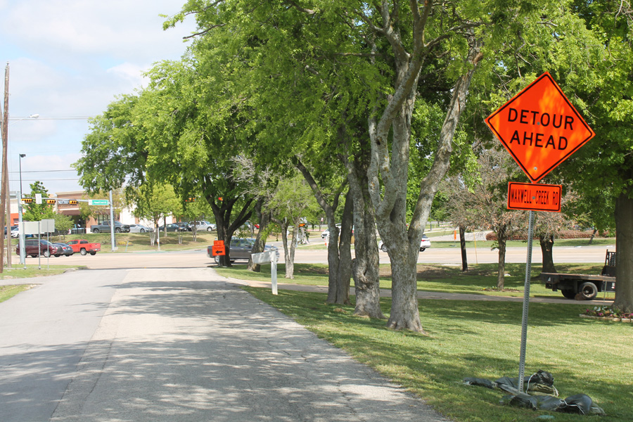 Two Murphy roads undergo replacements