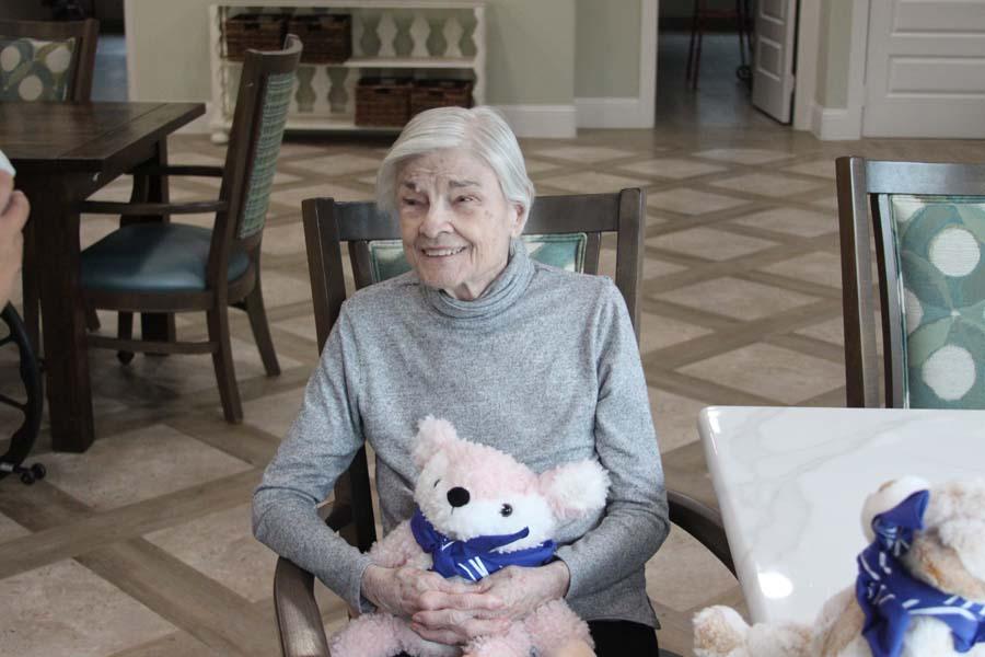 Stuffed animal adoption partnership