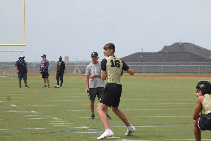 Panthers sophomore Devillier leads passing attack