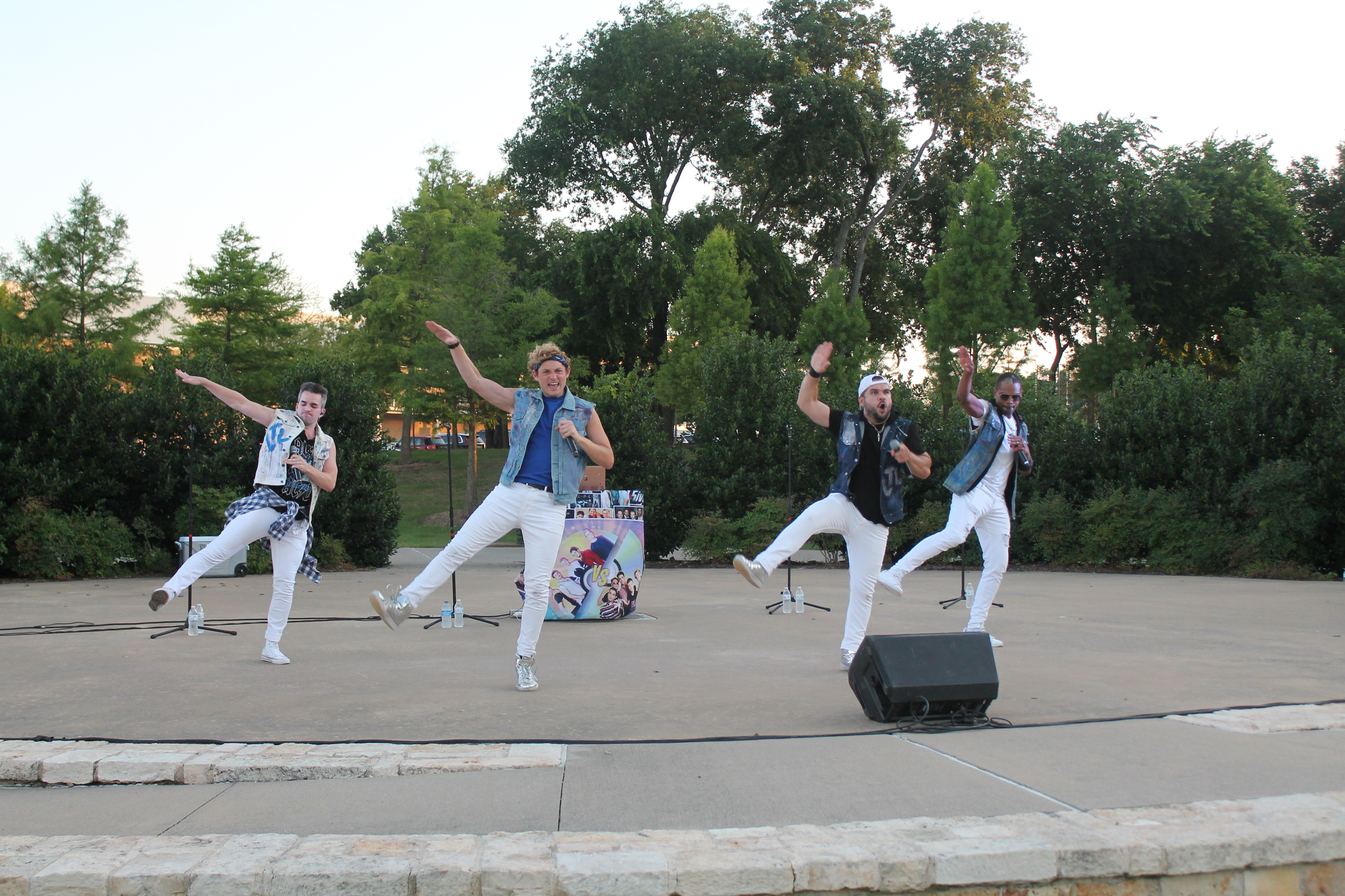 Sounds at Sundown continues with boy band tribute act