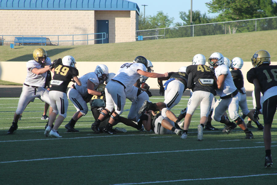 Youth and athleticism key for Panthers offensive line
