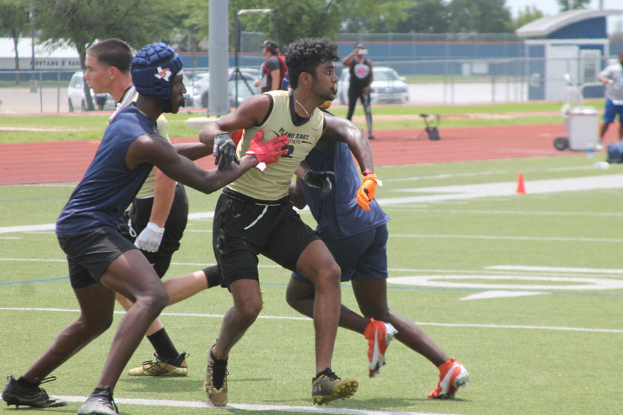 Patel leads receiver room in Panther offense