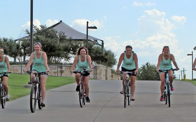 Women pedal into second act